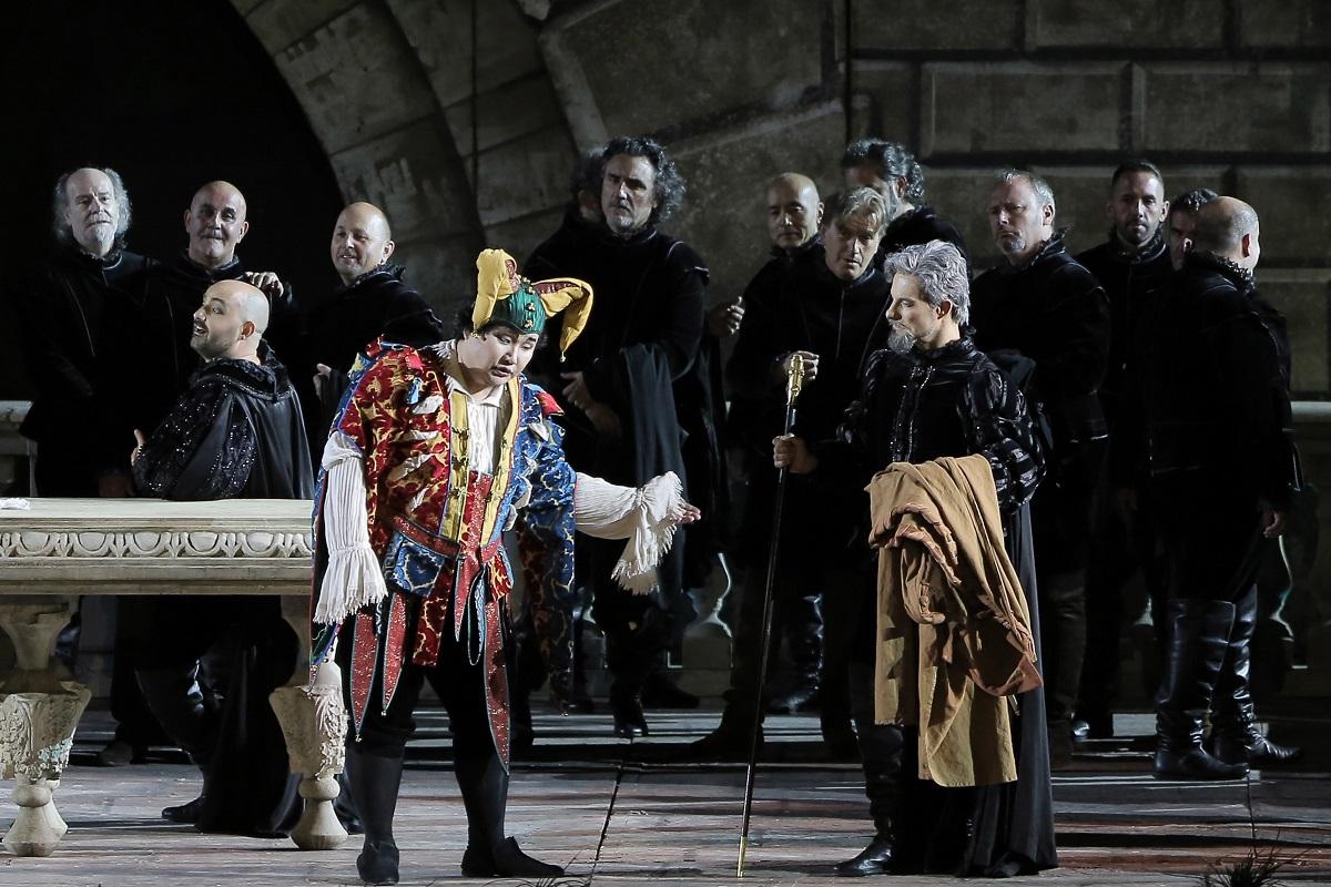 """Monumentale """"Rigoletto"""" a Verona: Terranova sbanca con gli applausi!"""